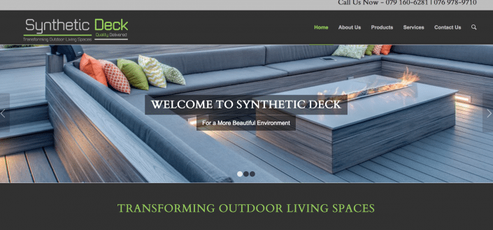 Synthetic Decks